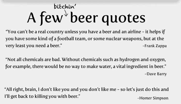 20-things-about-beer