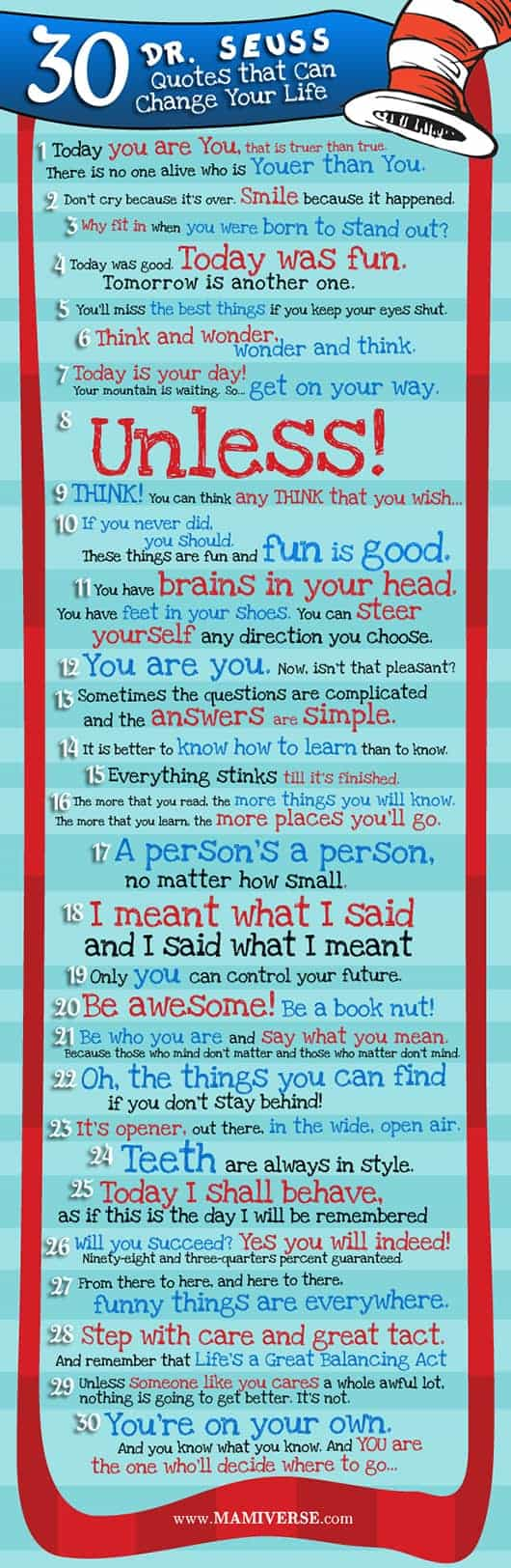 Doctor Seuss Quotes About Life on Best Dr Seuss Images On Pinterest Suess Educational S