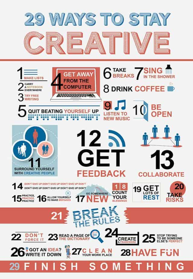 http://dailyinfographic.com/wp-content/uploads/2013/06/29-ways-to-stay-creative_518297cbd8c32-640x924.jpg