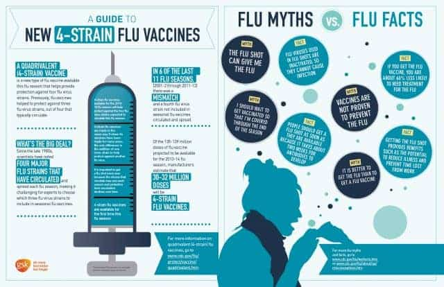 What You Need To Know About The Flu Daily Infographic