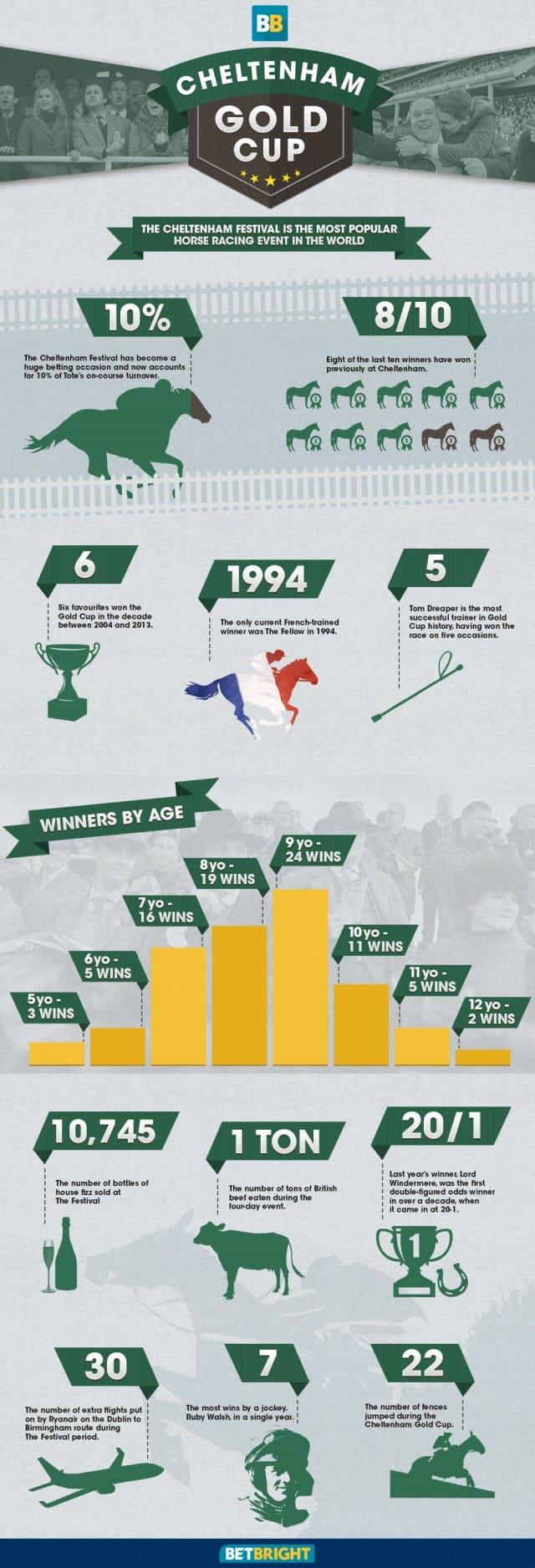 Cheltenham Gold Cup Infographic