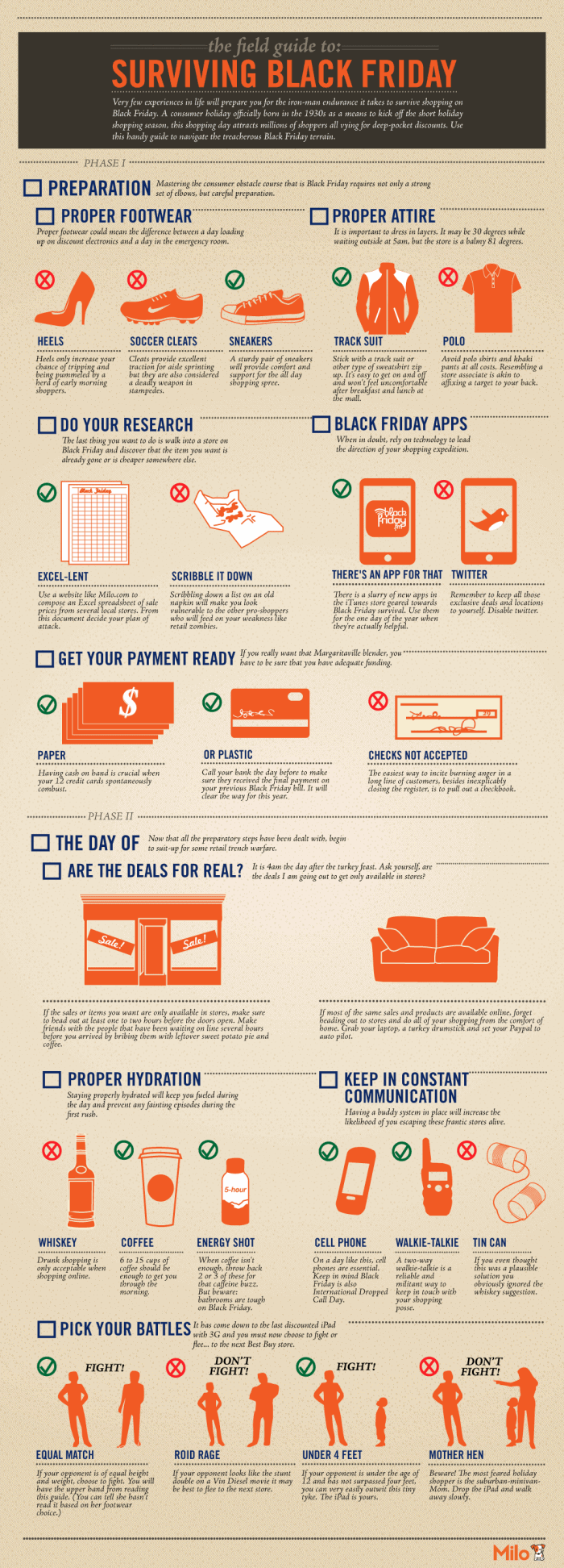 Field Guide To Surviving Black Friday