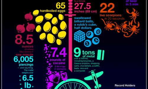 Human Storage Infographic