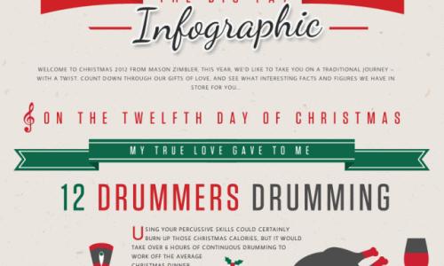 Big Fat Christmas Infographic