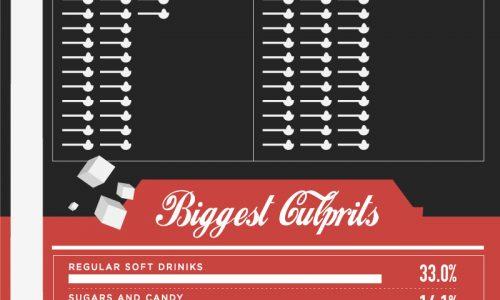 Sugar Consumption in America Infographic