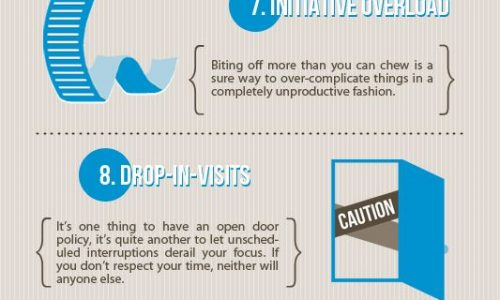 15 Time Wasters Successful People Avoid Infographic