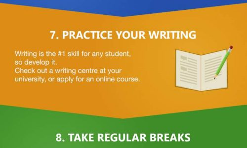 15 Productivity Hacks For College Students Infographic