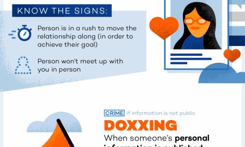 Online Harassment Infographic