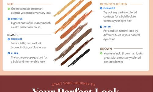 How to choose the best color contact lenses for yourself