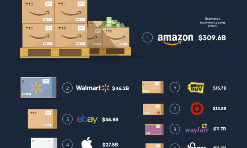 Biggest e-commerce businesses in the US